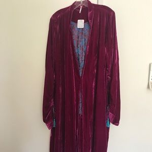 Free People duster coat